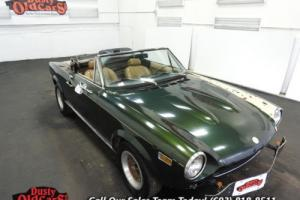 1975 Fiat 124 Runs Yard Drives Body Int Good 1.8L I4 5 spd for Sale