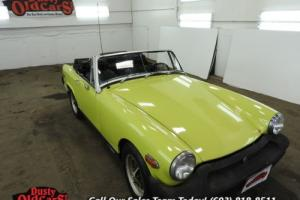 1975 MG Midget Runs Drives Body Inter Vgood 1.5L 4spd manual