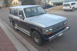 1988 Toyota Land Cruiser Photo