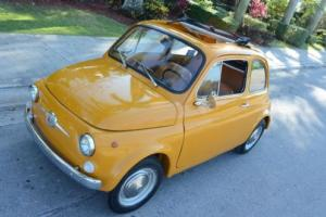 1967 Fiat 500 Ragtop Collector's SEE VIDEO!!