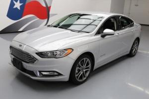 2017 Ford Fusion SE HYBRID SEDAN REAR CAM ALLOYS