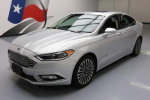 2017 Ford Fusion TITANIUM HYBRID SUNROOF LEATHER