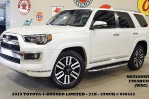 2015 Toyota 4Runner Limited 4X2 ROOF,NAV,BACK-UP,HTD/COOL LTH,3RD ROW,21K!