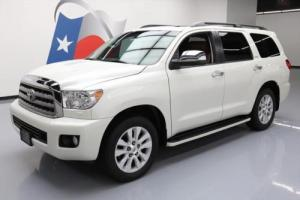2014 Toyota Sequoia PLATINUM 4X4 SUNROOF NAV BLURAY