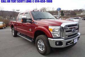 2015 Ford F-350 Certified 2015 Ford F350 Lariat 4x4 Diesel Crew
