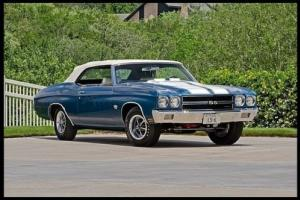 1970 Chevrolet Chevelle CONVERTIBLE LS6-WE CAN BUILD THIS FOR YOU