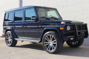 2012 Mercedes-Benz G-Class G 550 AWD 4MATIC 4dr SUV SUV Automatic 7-Speed