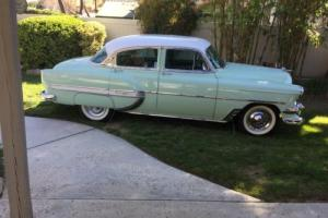 1954 Chevrolet Bel Air/150/210 4 door sedan