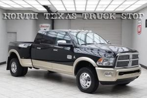 2012 Dodge Ram 3500 Cummins 6.7L Laramie Longhorn Navigation TEXAS
