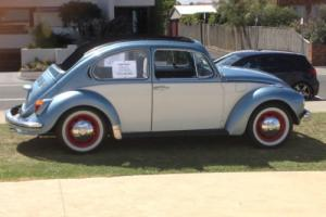 Restored 1971 VW Rag Top (Cabriolet) Beetle 1600cc twin port autostick - VIC