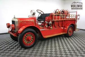 1922 STOUGHTON FIRE ENGINE ONLY ONE KNOWN TO EXIST!