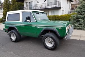 1969 Ford Bronco 1969 Ford Bronco fully restored upgraded 302 5.0
