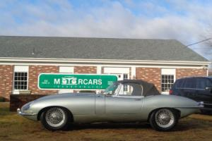 1967 Jaguar E-Type 1967 Jaguar E-Type-Series 1 OTS-Roadster-Convertib