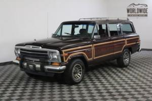 1989 Jeep Wagoneer 103K DOCUMENTED MILES. COLLECTOR GRADE!