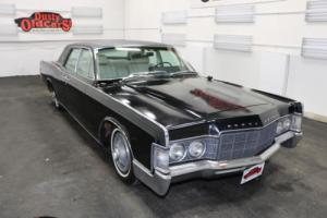 1969 Lincoln Continental Black on White 460V8 3spd Body Int Good for Sale