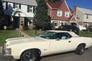 1973 Mercury Cougar convertible for Sale