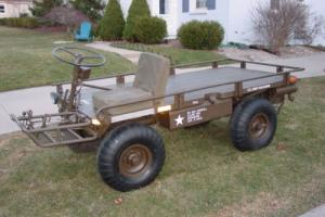 1969 M274 Military Mule 4 Wheel Drive Electric Start Rare Side By Side