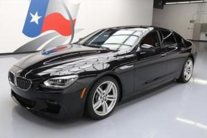 2015 BMW 6-Series 640I AWD GRAN COUPE SEDAN M SPORT NAV HUD