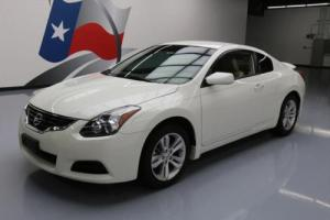 2011 Nissan Altima 2.5 S COUPE AUTO LEATHER ALLOYS