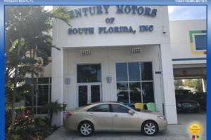 2007 Lexus ES NIADA Certified Nav Heated Seats Camera