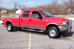 2000 Ford F-350 Longbed superduty CREW 4 Door 6 Speed Texas 7.3