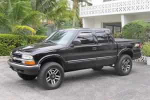 2001 Chevrolet S-10 4x4 Crew Cab12500. Photo