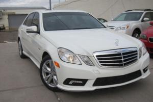 2011 Mercedes-Benz E-Class BLUETEC TURBO DIESEL SPORT