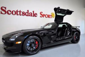 "2015 Mercedes-Benz SLS AMG ONLY 575 MILES, COLLECTIBLE ""FINAL EDITION"" BLACK/"