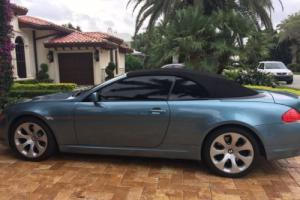 2006 BMW 6-Series CONVERTIBLE