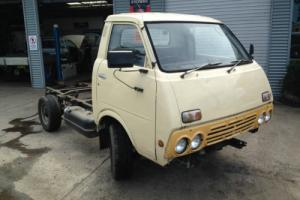 1978 Datsun Homer truck 2lt engine 4 speed Runs well some rust 0244434268