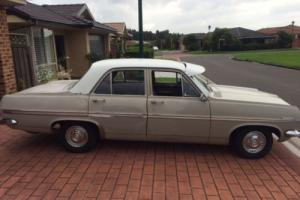 HR HOLDEN SEDAN 1967 3 SPD MANUAL