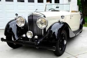 1937 Other Makes 1937 Bentley 4-1/4 Liter DHC Original Drop Head Coupe by Park Ward Photo