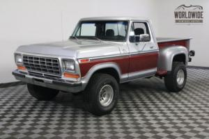 1977 Ford F150 XLT 4X4 STEPSIDE 73K ORIGINAL MILES Photo