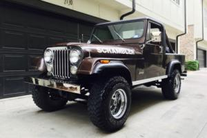 1981 Jeep CJ Scrambler