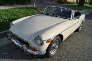 1973 MG MGB MARK III CONVERTIBLE