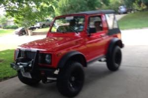 1987 Suzuki Samurai Convertible Photo