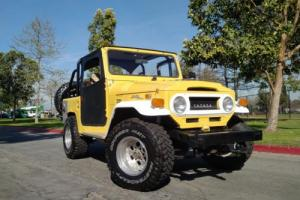 1970 Toyota Land Cruiser Awesome FJ40 CONVERTIBLE 4X4 Land Cruiser