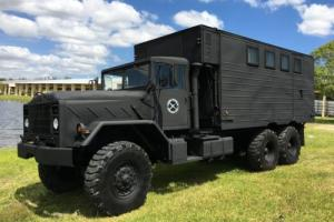 1986 AM General M934A1 5 Ton 6x6 Van Truck
