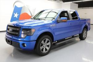 2014 Ford F-150 FX2 CREW 5.0 SUNROOF NAV LEATHER