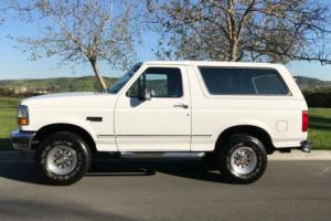 1993 Ford Bronco XLT 4x4 for Sale