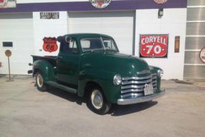 1951 Chevrolet Other Pickups 1/2 ton short box