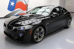 2016 BMW M4 COUPE TURBO 6-SPD CARBON ROOF NAV