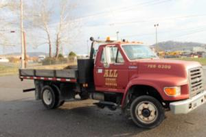 1998 Ford F800 12' Flat Bed / Stake