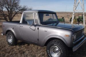 1970 International Harvester Scout Half Cab