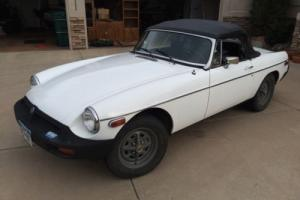 1980 MG MGB B- convertible
