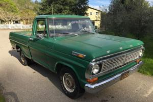 1970 Ford F-100 Short Bed