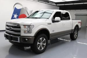 2015 Ford F-150 KING RANCH 4X4 5.0 PANO ROOF NAV