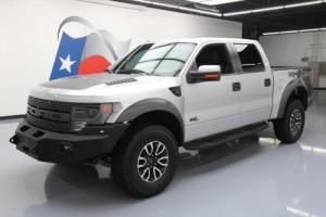 2013 Ford F-150 SVT RAPTOR CREW 4X4 SUNROOF NAV