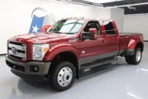 2015 Ford F-450 KING RANCH CREW FX4 4X4 DIESEL DRW