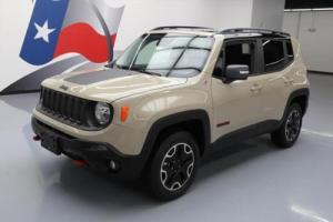2016 Jeep Renegade TRAILHAWK 4X4 REAR CAM ALLOYS